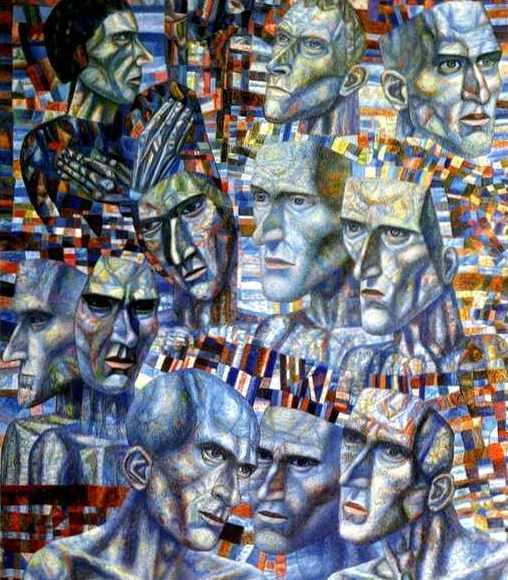 filonov_eleven_heads